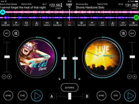 DJUCED App - náhled
