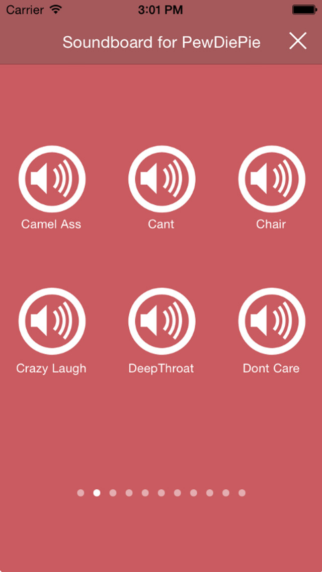The Best Soundboard for PewDiePie screenshot 3