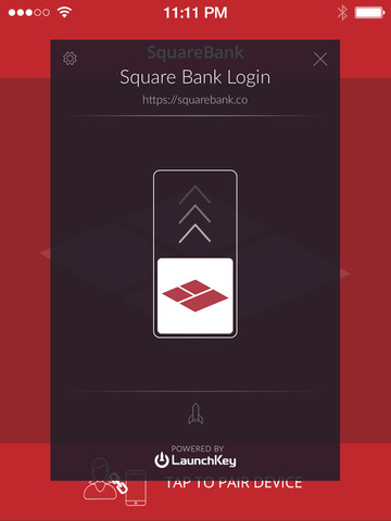 Square Bank - LaunchKey White Label - náhled