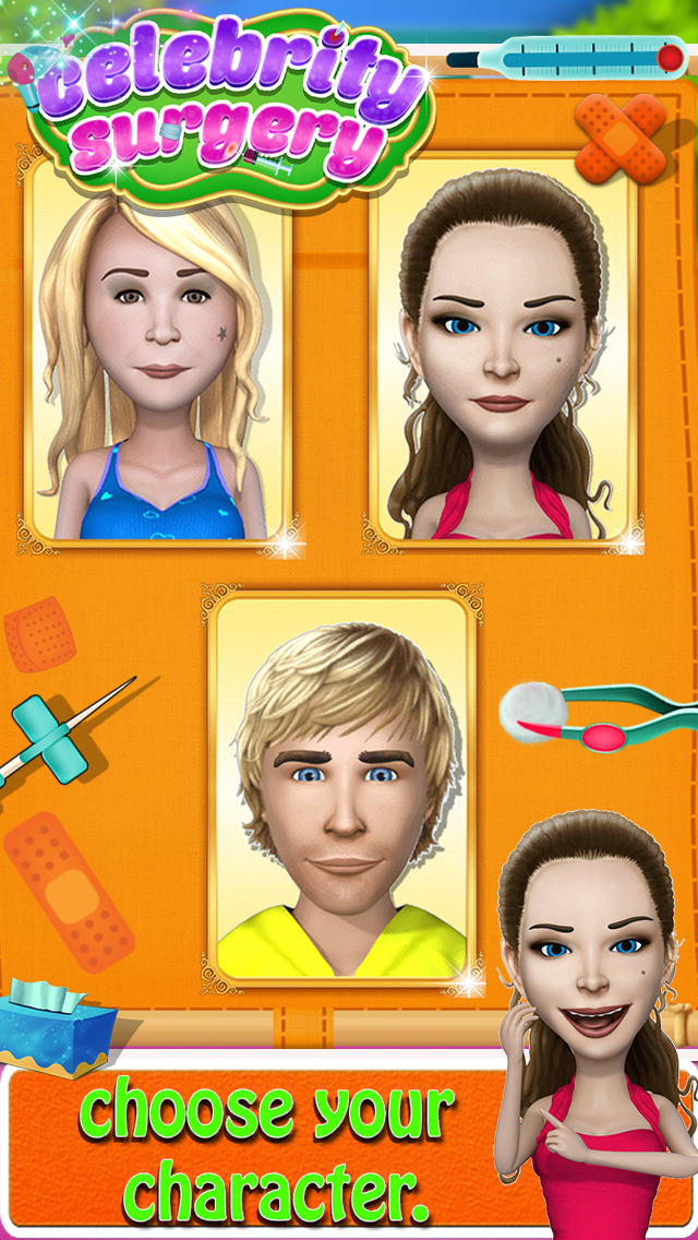 Celebrity Surgery Game screenshot 2