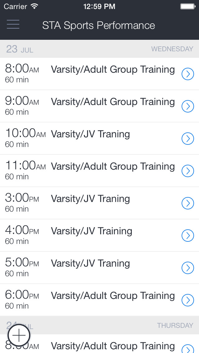 STA Sports Performance screenshot 1