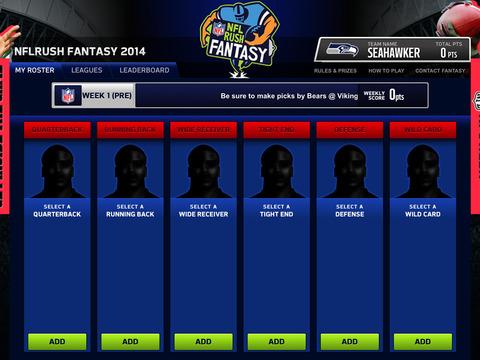 NFLRUSH Fantasy Football screenshot 8