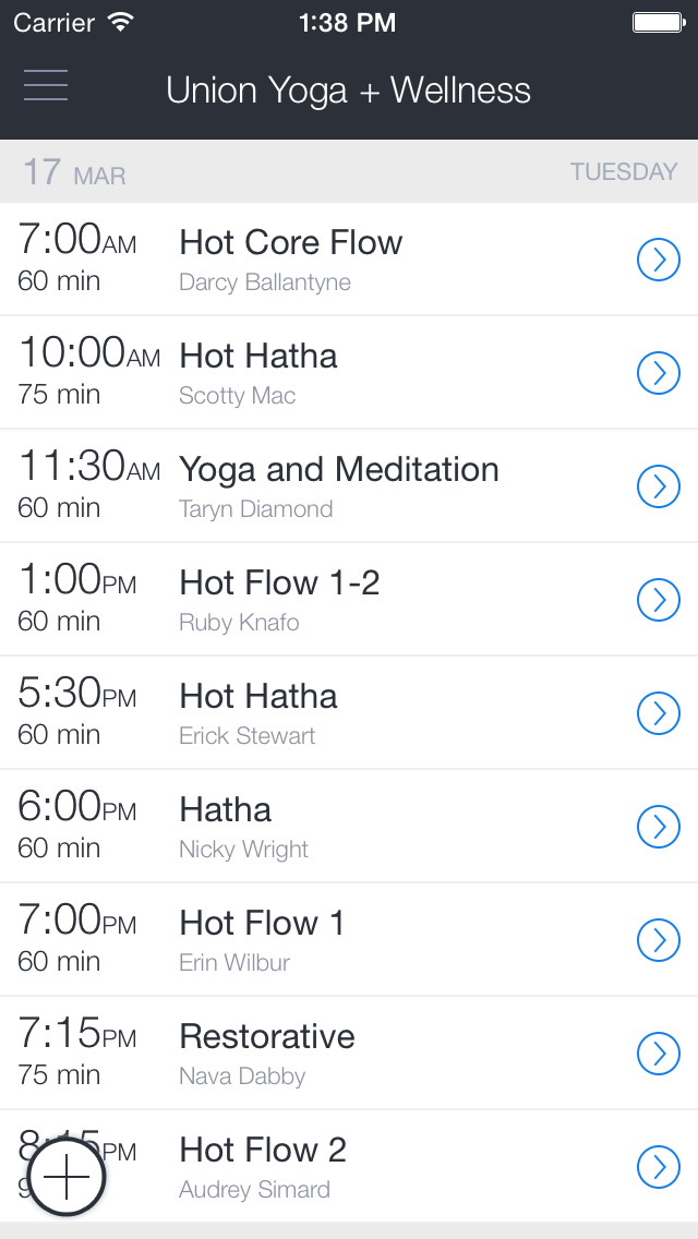 Union Yoga + Wellness screenshot 1