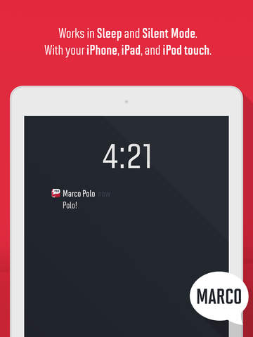 Marco Polo: Find Your Phone by Shouting MARCO! screenshot 8