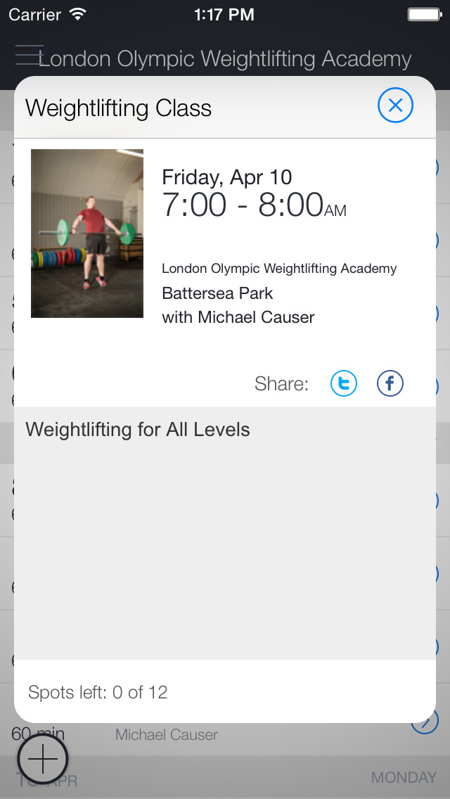 London Weightlifting Academy screenshot 2