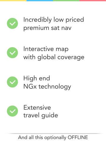 GPS Navigation (Sat Nav) screenshot 6