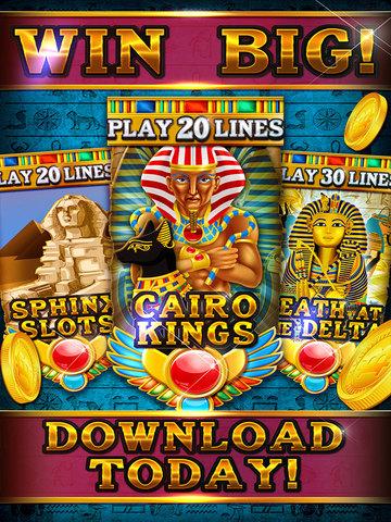 Pharaoh's Party Jackpot Casino - Social Slots Supreme (3D Crack Xtreme Craze) screenshot 6
