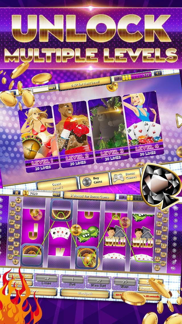 A Bonanza Slots Bash HD - Vegas Fun House Casino screenshot 5