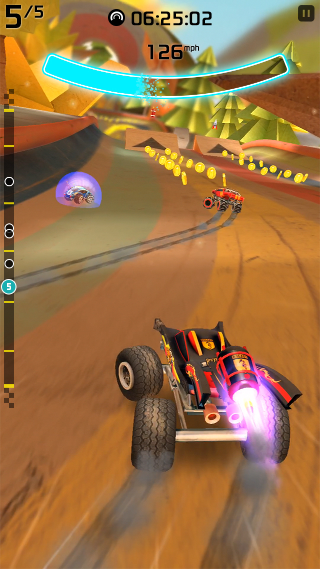 Rocket Cars screenshot #2