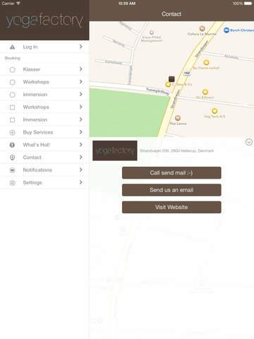 Yogafactory screenshot #4
