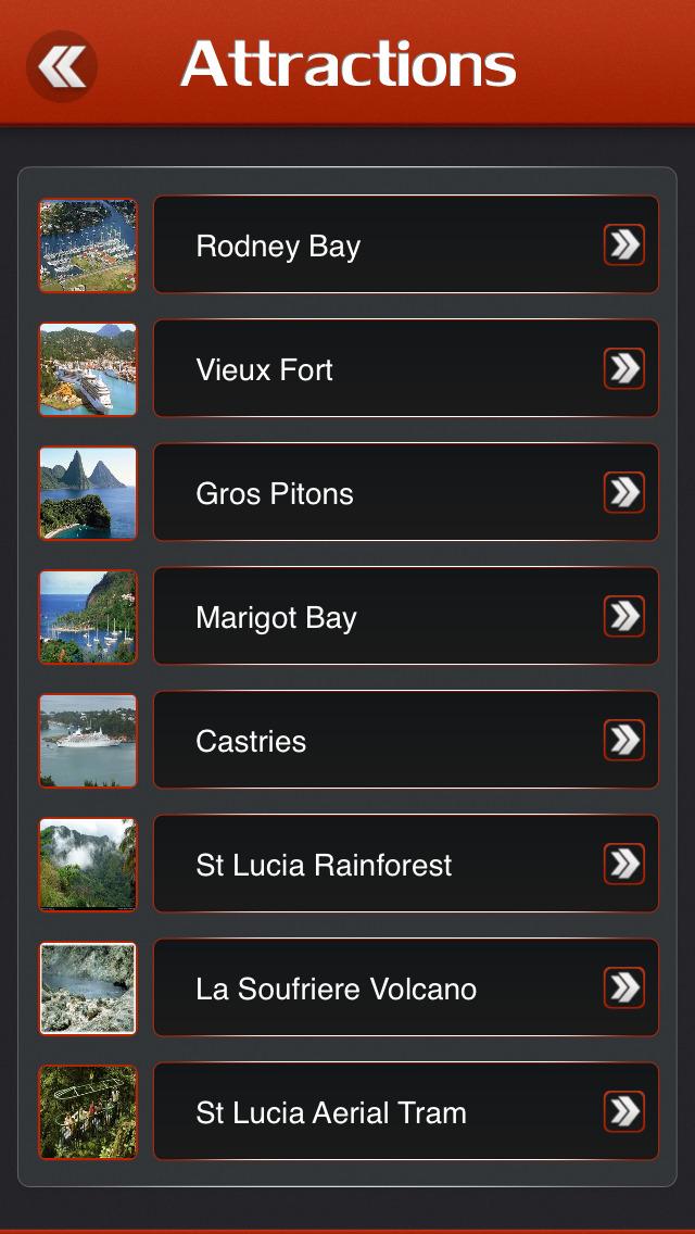 St Lucia Island Offline Travel Guide screenshot 3