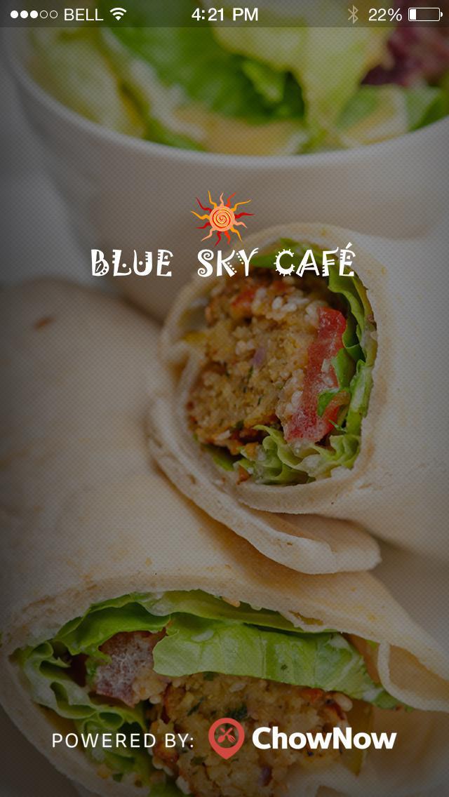 Blue Sky Cafe screenshot 1