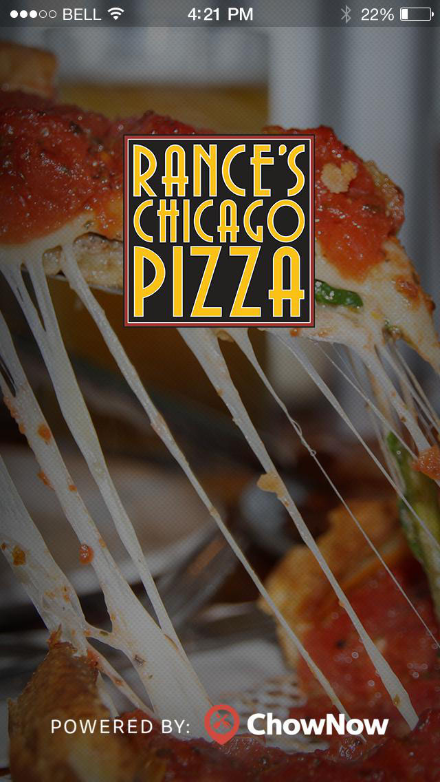 Rance's Chicago Pizza screenshot 1