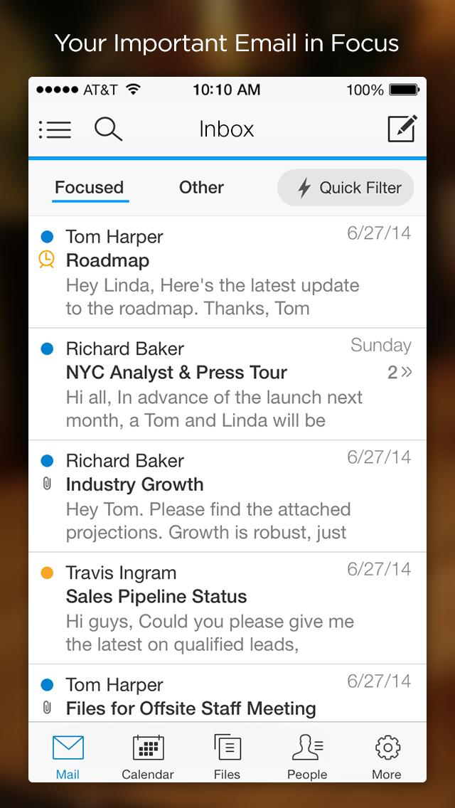 Acompli Email screenshot 4