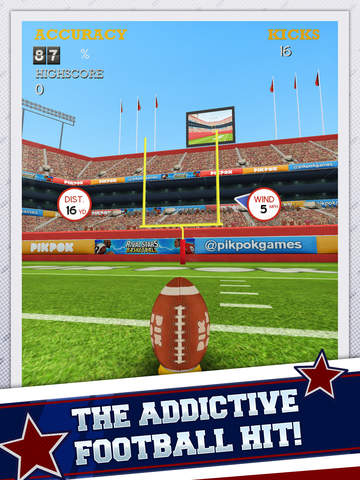 Flick Kick Field Goal Kickoff screenshot 6