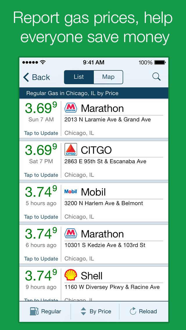 GasBuddy: Find Cheap Gas screenshot 2