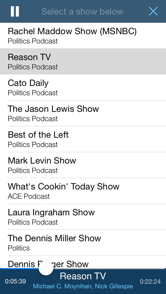 The Report: Conservative News & Talk Radio screenshot 5