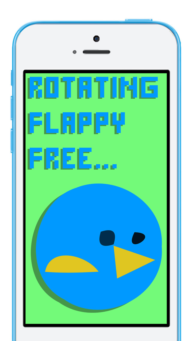 Rotating Flappy FREE screenshot 1