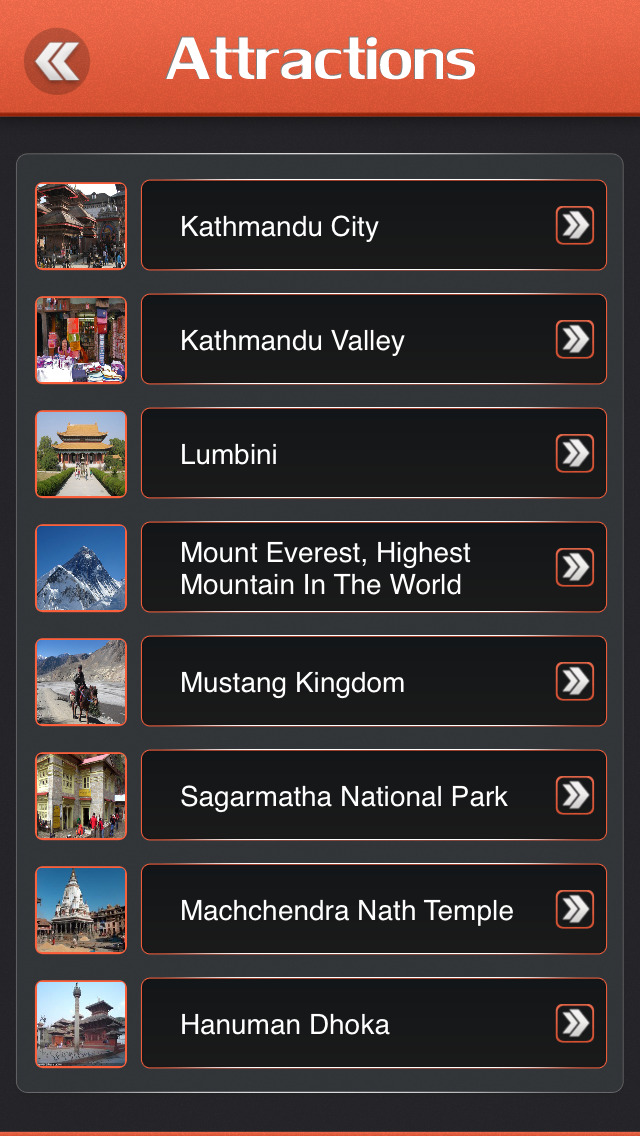 Kathmandu Offline Travel Guide screenshot 3