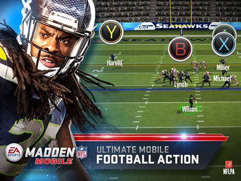 MADDEN NFL MOBILE FOOTBALL screenshot 6