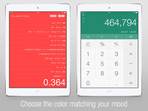 Calс One - Free Smart Calculator for iOS 8 screenshot 4