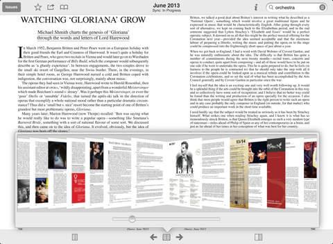 Opera Magazine screenshot #5