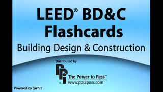 LEED® BD&C Flashcards: Building Design & Construction screenshot 1