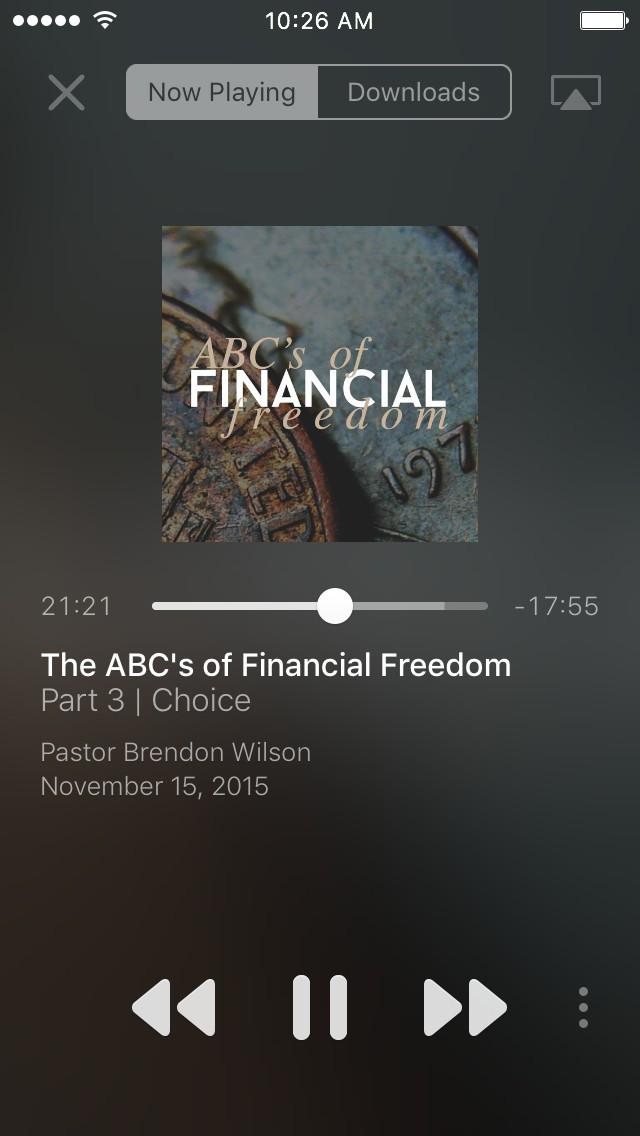 Fusion Church screenshot 2