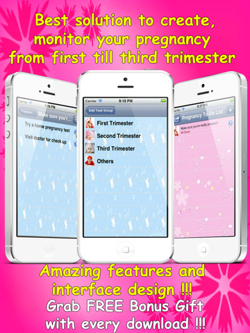 Ultimate Pregnancy Checklist.Pregnancy To-Do List. screenshot 6