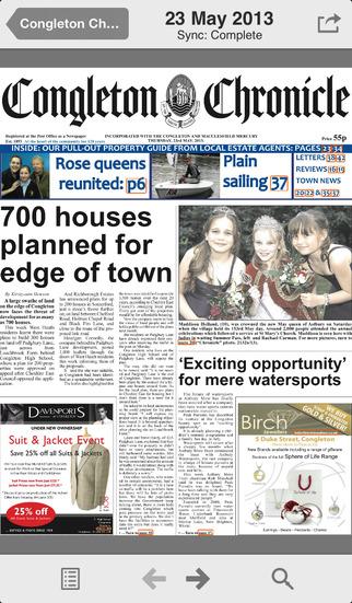 Congleton Chronicle screenshot 2