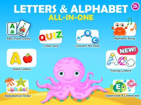 Letter quiz • Alphabet School & ABC Games 4 Kids screenshot 6