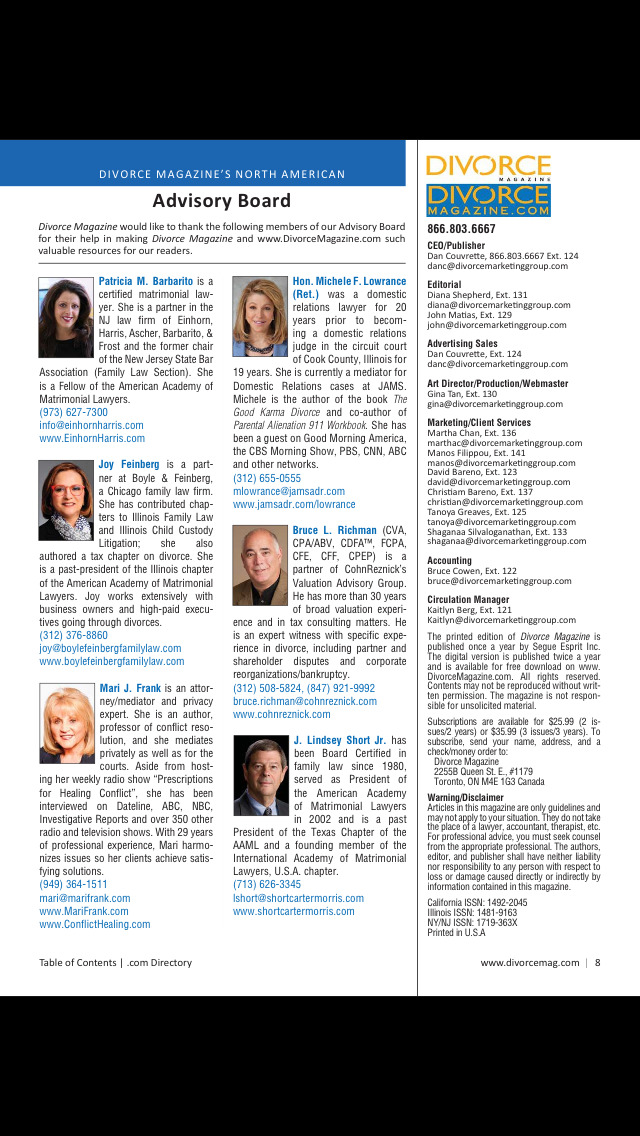 South Carolina Divorce Magazine screenshot 3