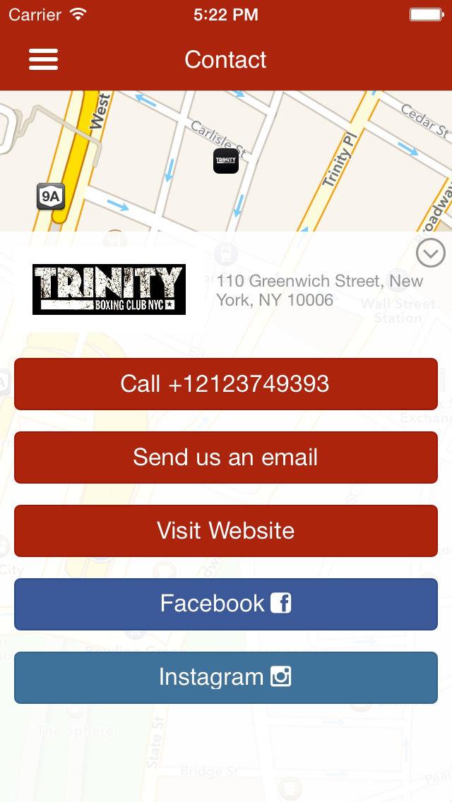 Trinity Boxing Club screenshot #2