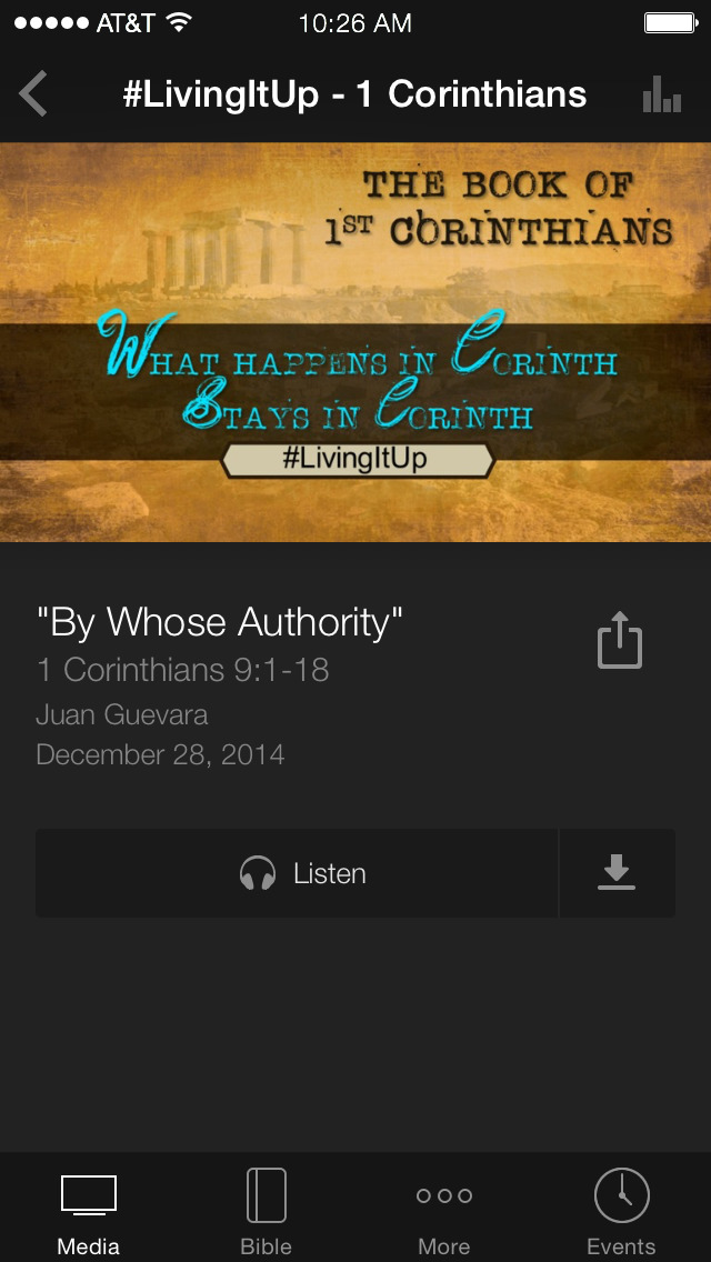 Calvary Chapel LakeBuenaVista screenshot 3