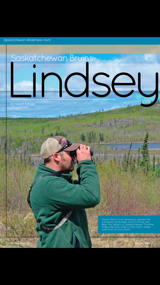 Bear Hunting Magazine screenshot 2