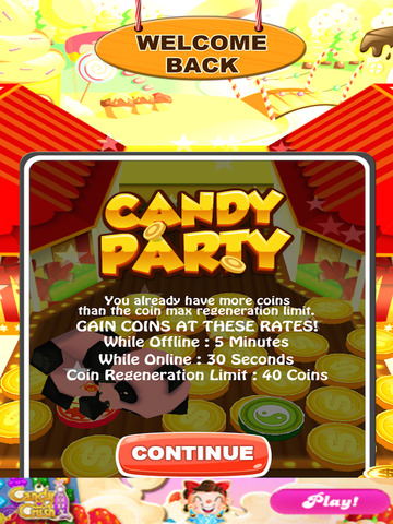 Candy Party Coin Pusher 3D screenshot 6