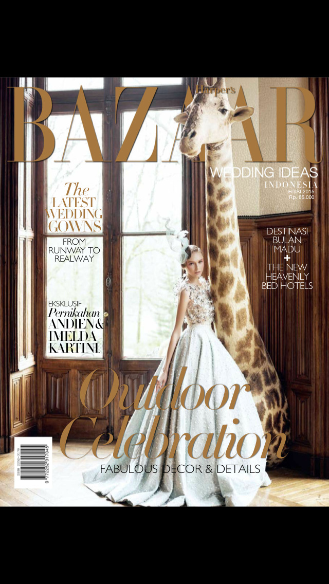 Harpers Bazaar Wedding Ideas screenshot 1