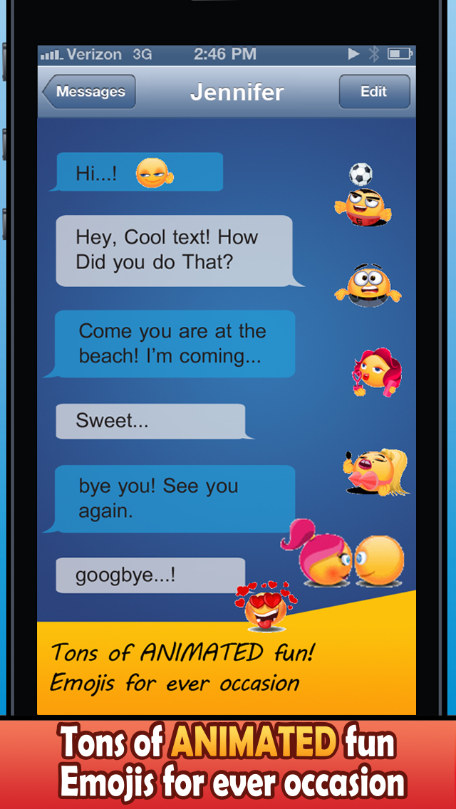 Emoji Magic Keyboard - Moving Emoticon Art screenshot 3
