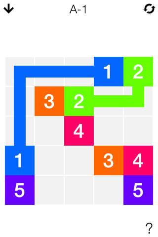 Number Link - Logic Puzzle Game - náhled