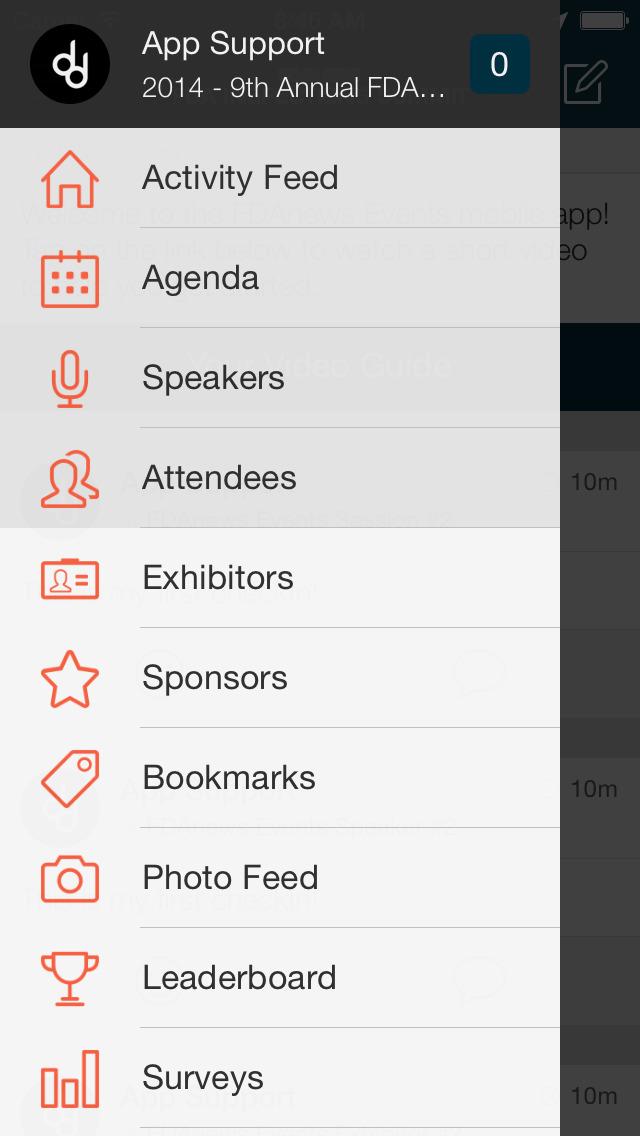 FDAnews Events screenshot 1