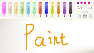 Crayon Paint for drawing, free color pen, Paper screenshot 2