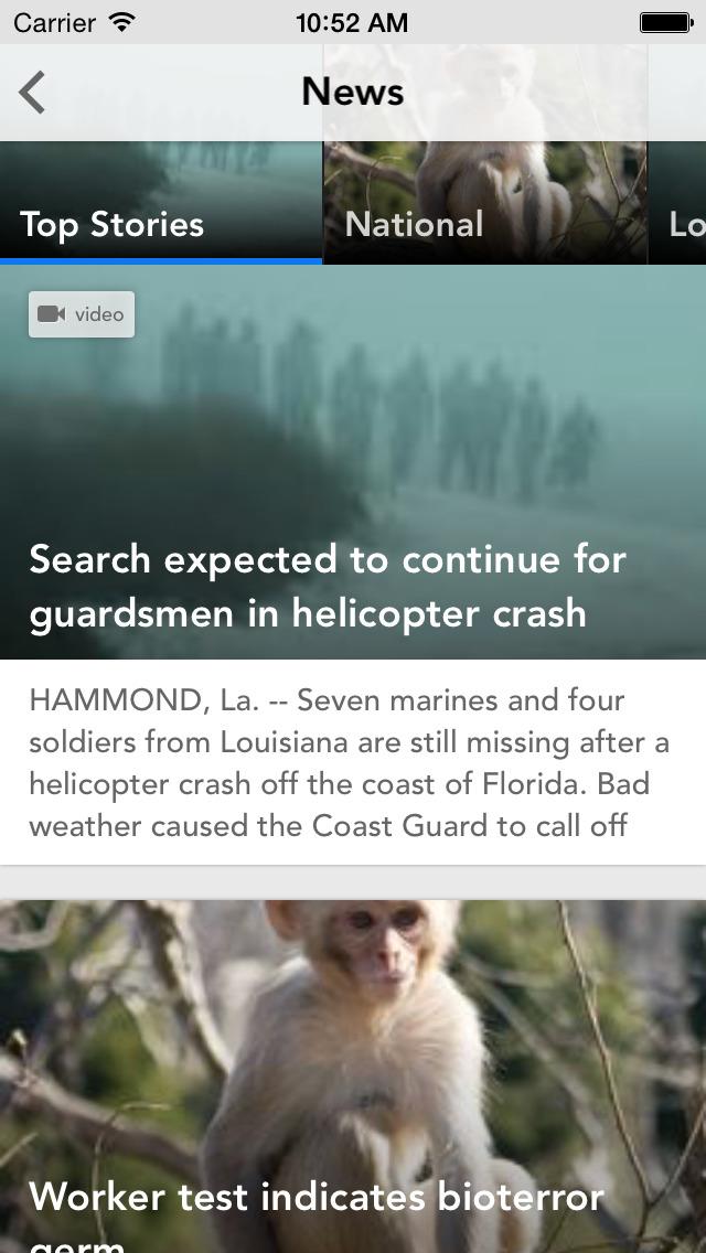 WWL-TV New Orleans News screenshot 2