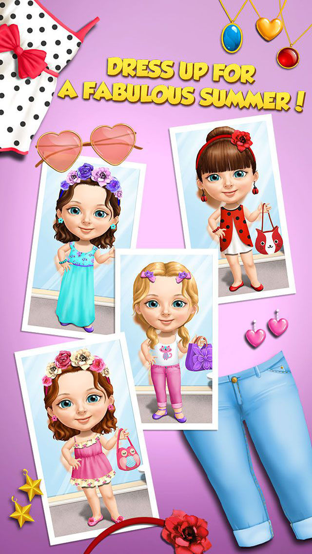 Sweet Baby Girl Summer Fun - No Ads screenshot 4