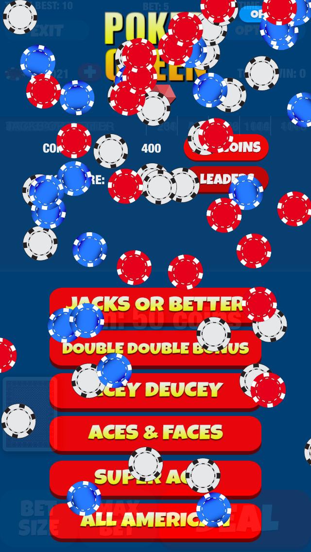 Poker Queen - Video Pocker Machine Game screenshot 3