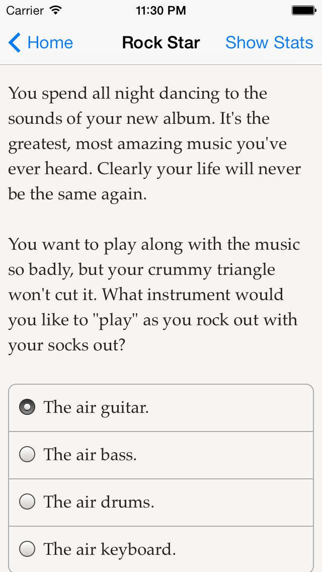 Choice of the Rock Star screenshot 2
