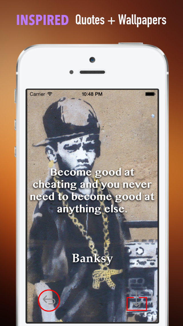 Banksy Artworks HD Wallpaper and His Inspirational Quotes Backgrounds Creator screenshot 5