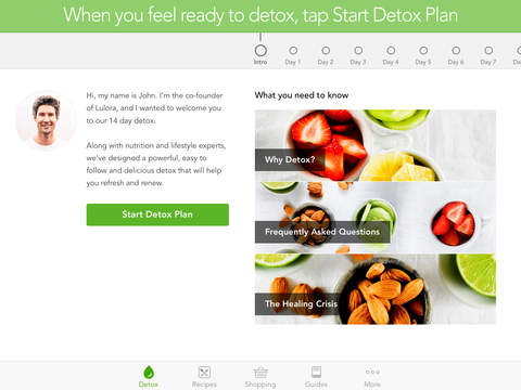 14 Day Detox including meal plan and cleansing guides screenshot 6