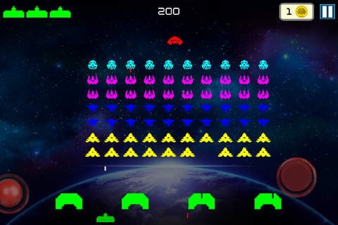 Galaxy Invaders - Strike Force Alien Hit - náhled