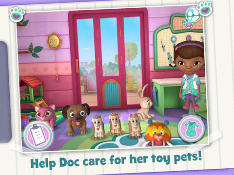 Doc McStuffins Pet Vet screenshot 6