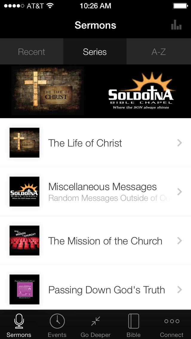 Soldotna Bible Chapel screenshot 1